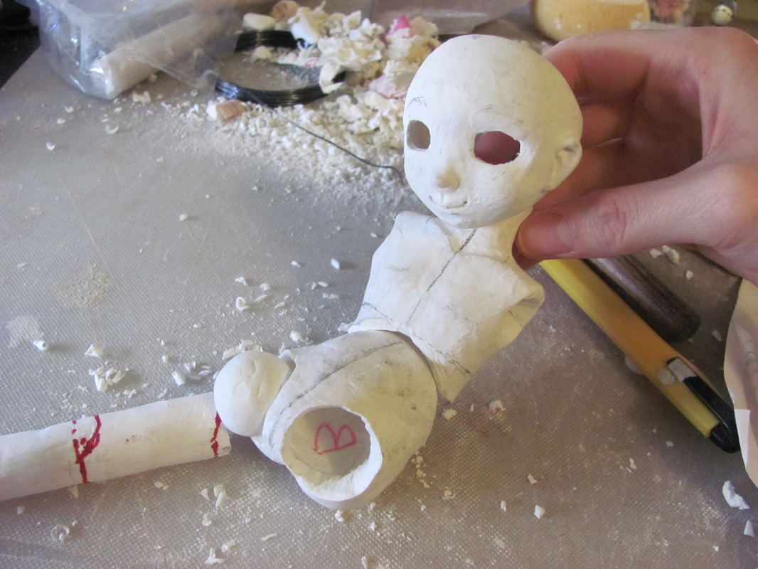 103 best images about Ball jointed dolls on Pinterest ... |How To Make A Ball Jointed Doll